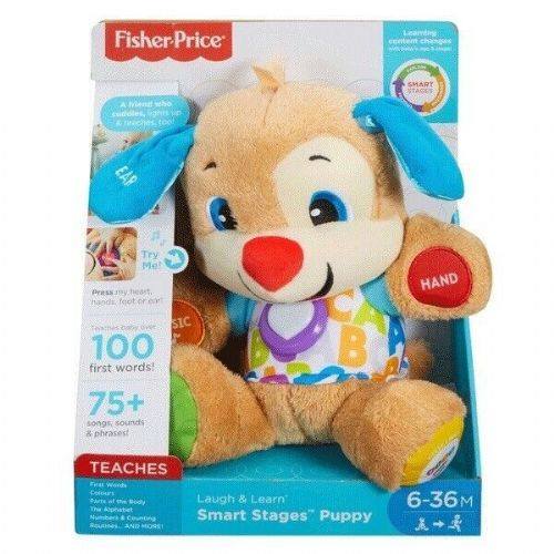 Fisher-Price Laugh & Learn Smart Stages Puppy Educational Toy FPM43